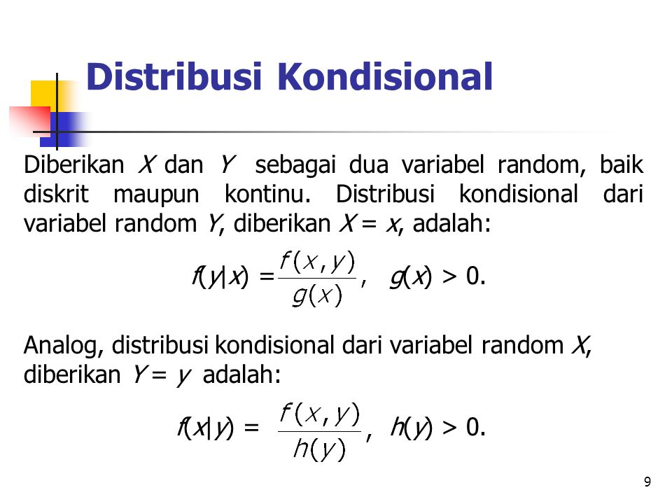 Distribusi Kondisional
