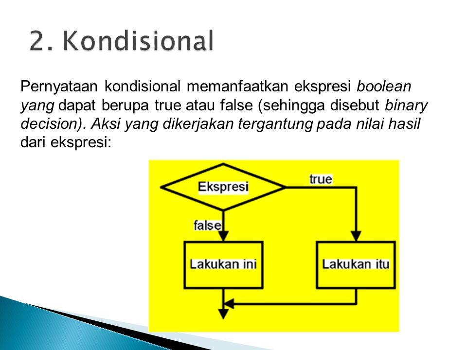 2. Kondisional