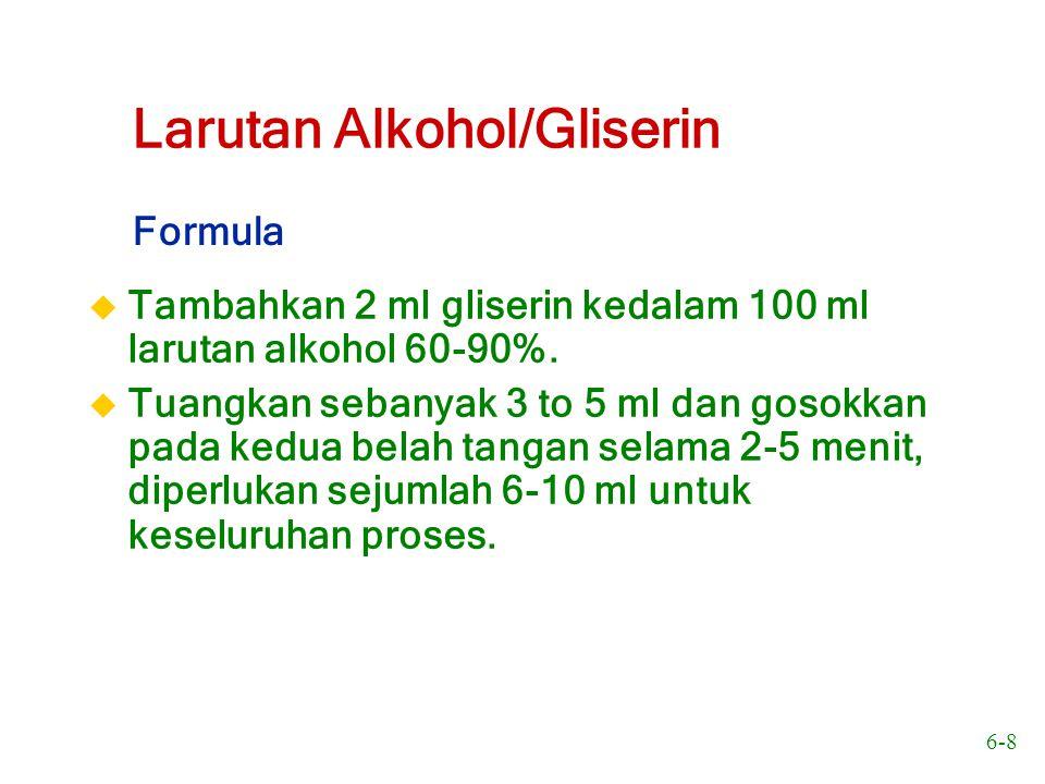 Larutan Alkohol/Gliserin