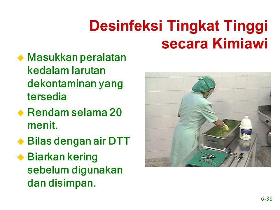 Desinfeksi Tingkat Tinggi secara Kimiawi