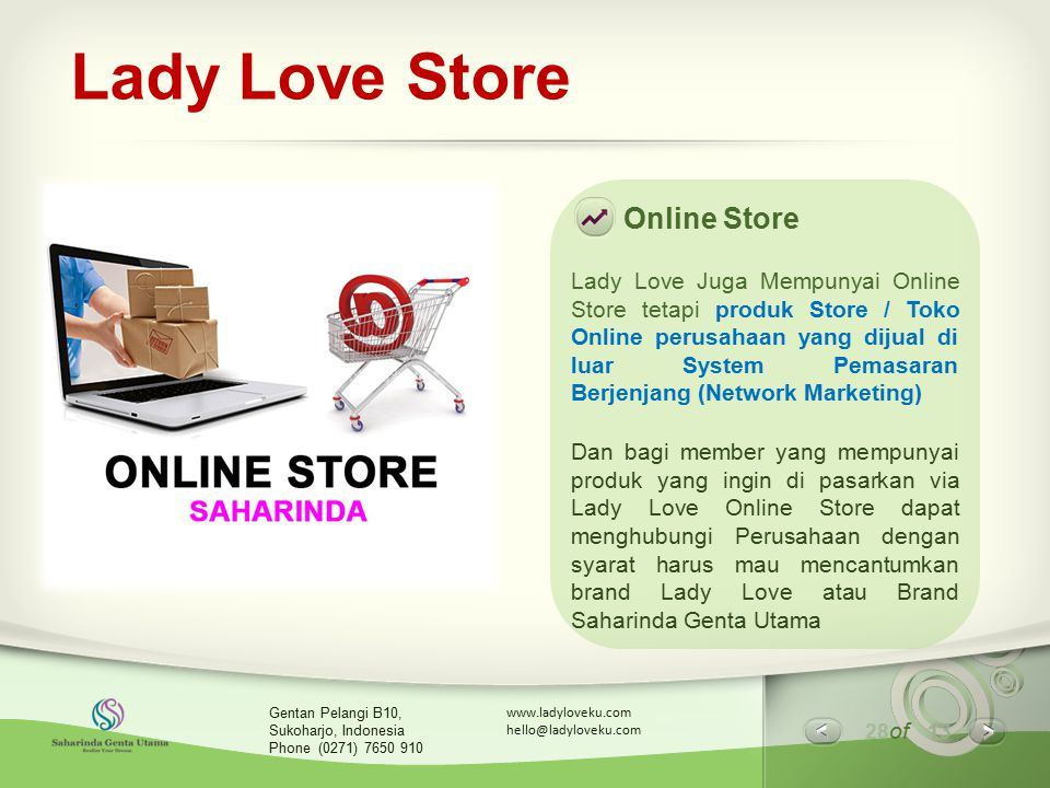 Lady Love Store