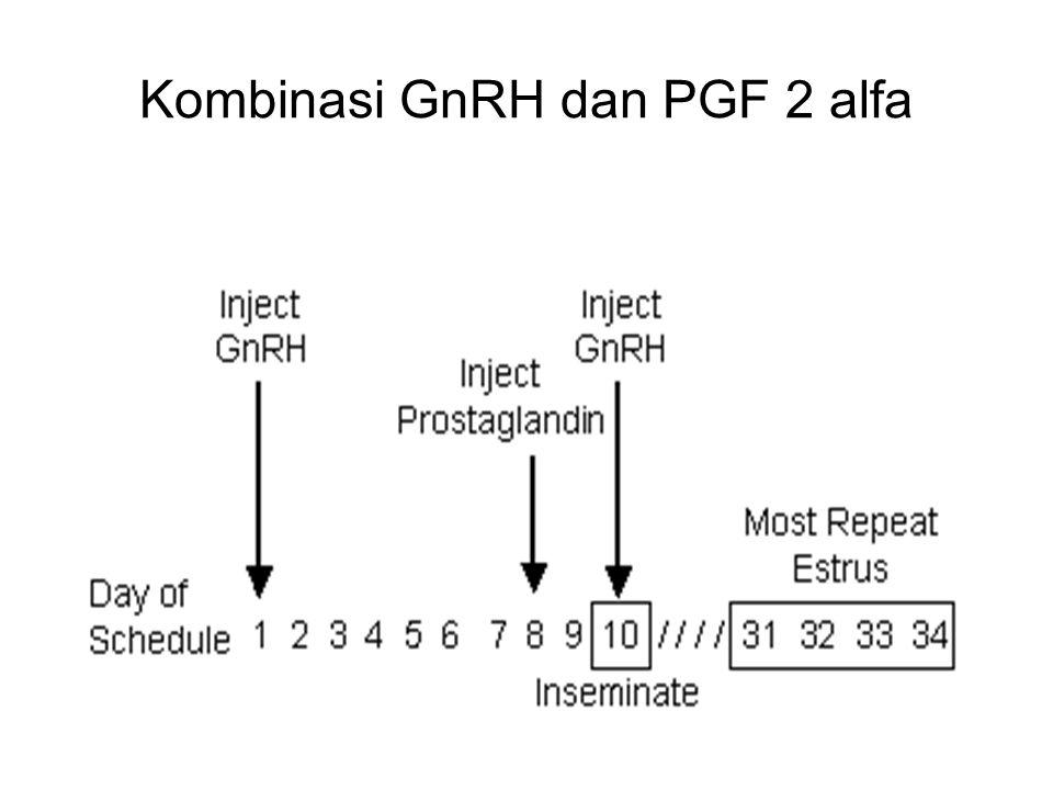 Kombinasi GnRH dan PGF 2 alfa