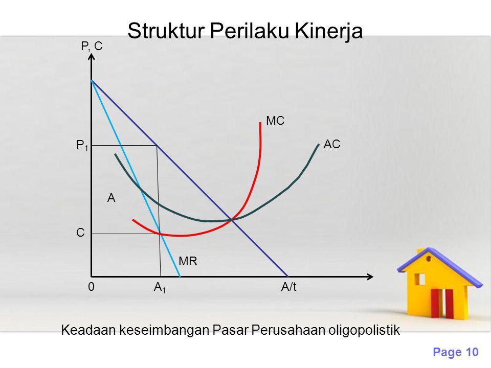 Struktur Perilaku Kinerja