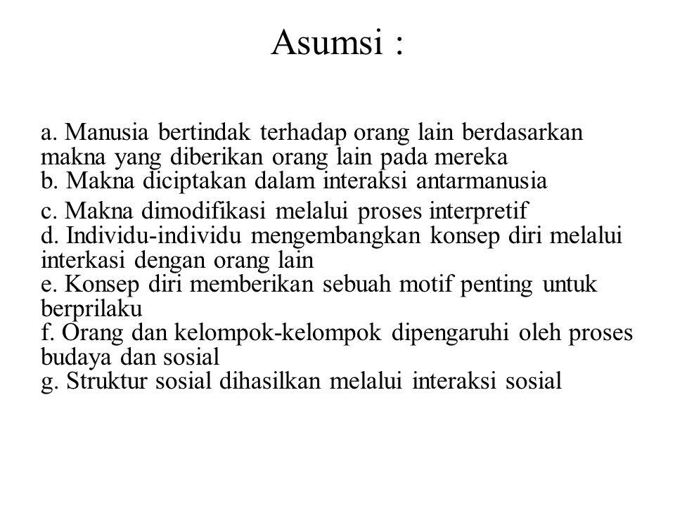 Asumsi :