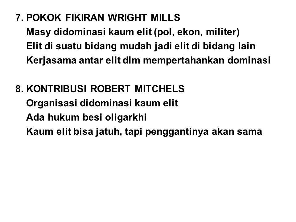 7. POKOK FIKIRAN WRIGHT MILLS