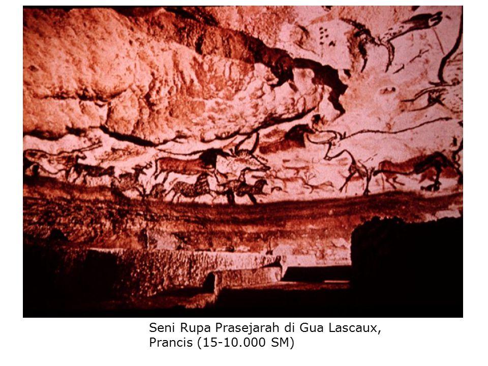 Seni Rupa Prasejarah di Gua Lascaux, Prancis (15-10.000 SM)