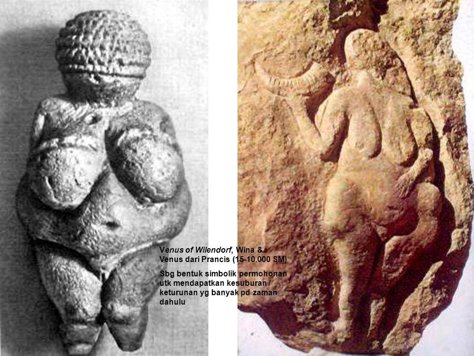 Venus of Wilendorf, Wina & Venus dari Prancis (15-10.000 SM)