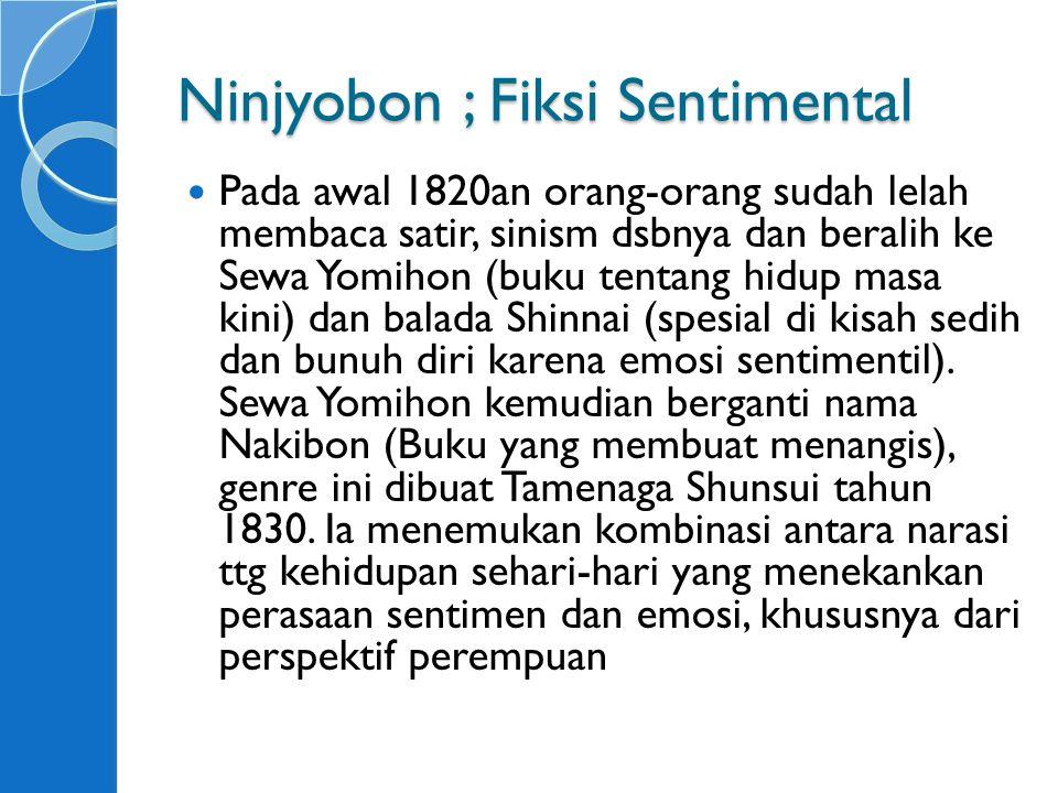 Ninjyobon ; Fiksi Sentimental