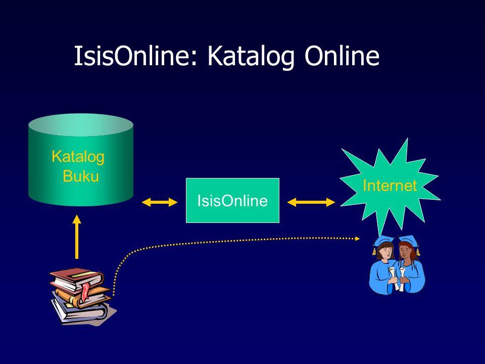 IsisOnline: Katalog Online