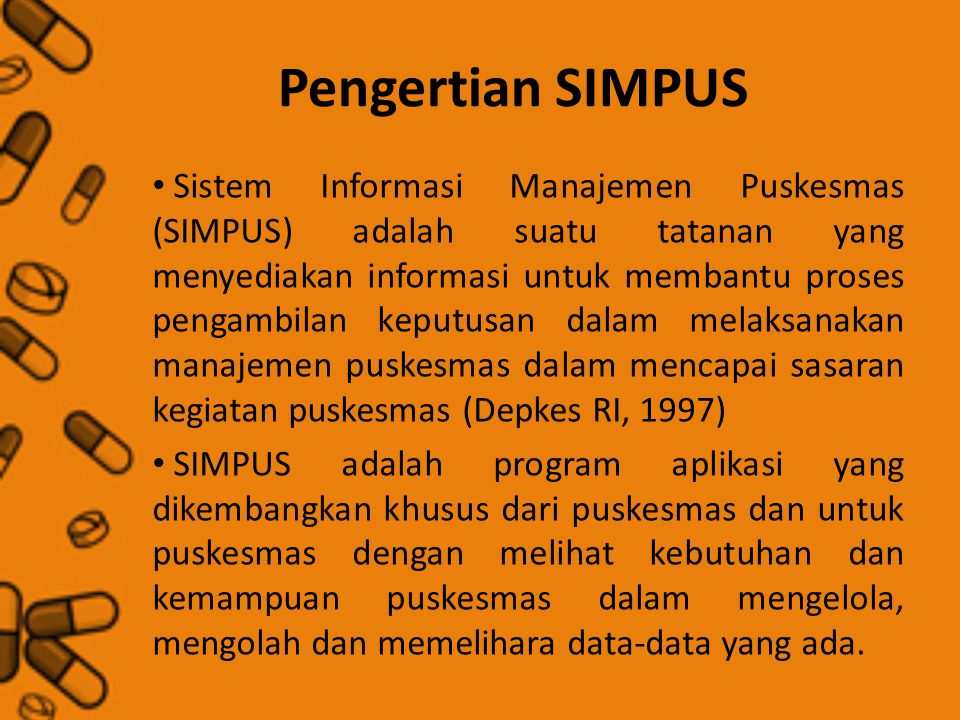 Pengertian SIMPUS