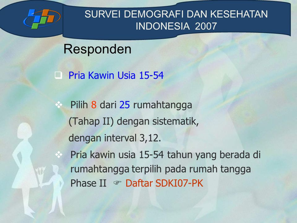 SURVEI DEMOGRAFI DAN KESEHATAN INDONESIA 2007