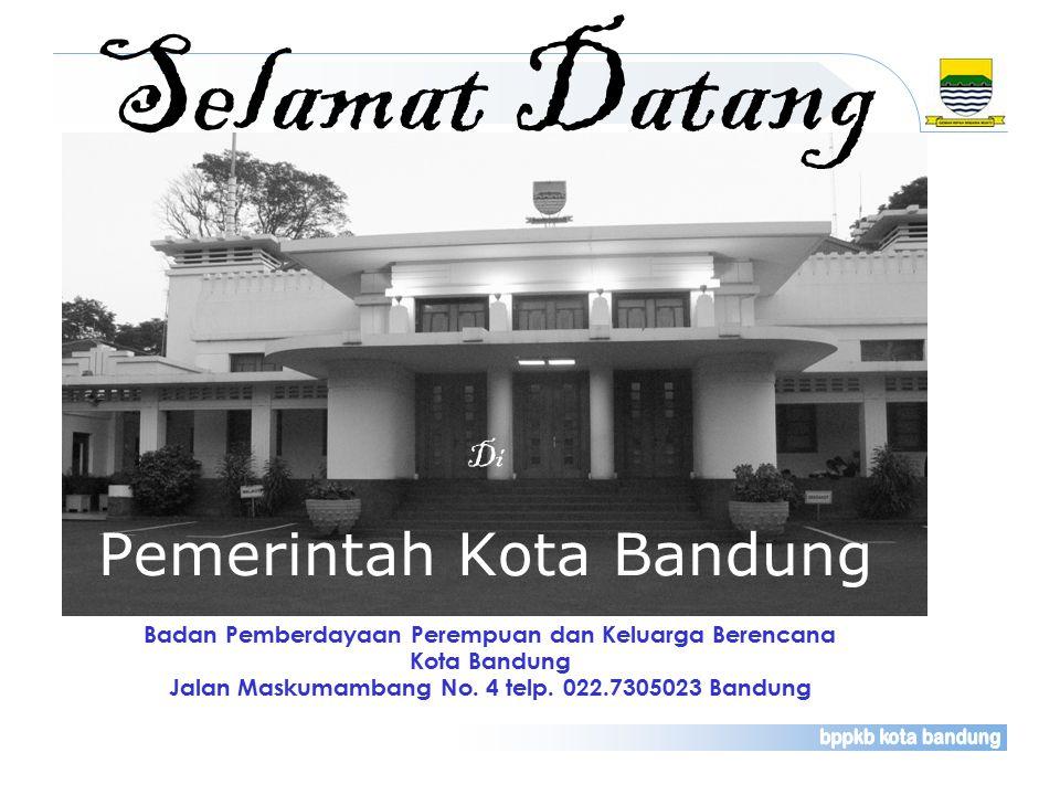 Selamat Datang Pemerintah Kota Bandung Di