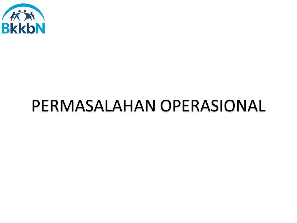 PERMASALAHAN OPERASIONAL