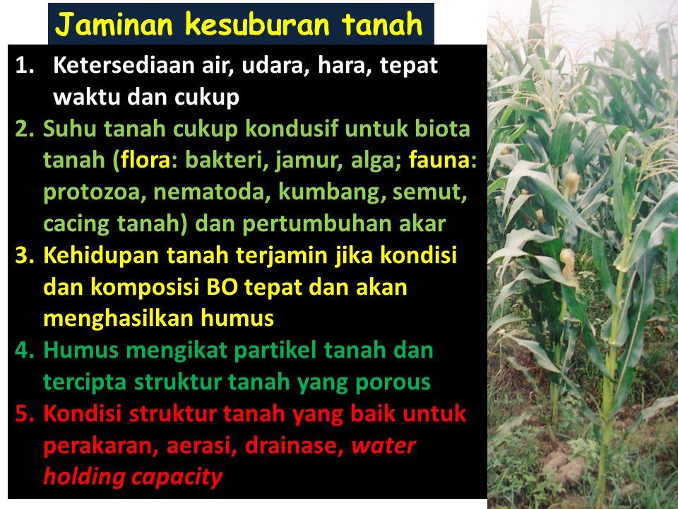 Jaminan kesuburan tanah