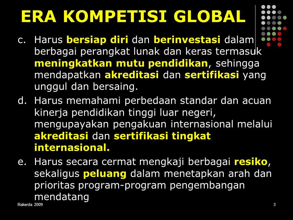 ERA KOMPETISI GLOBAL