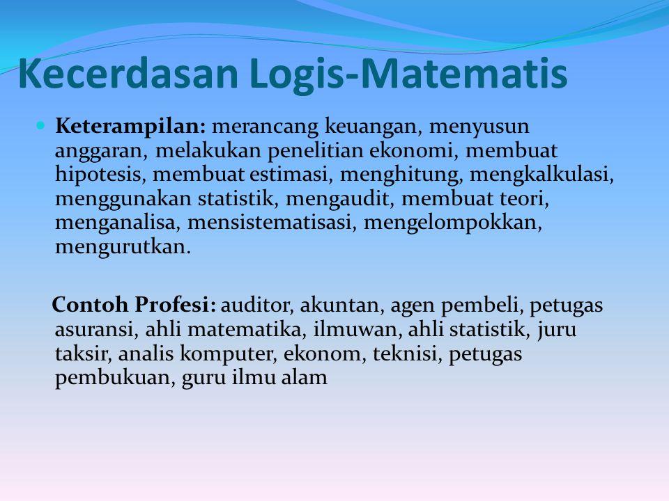 Kecerdasan Logis-Matematis