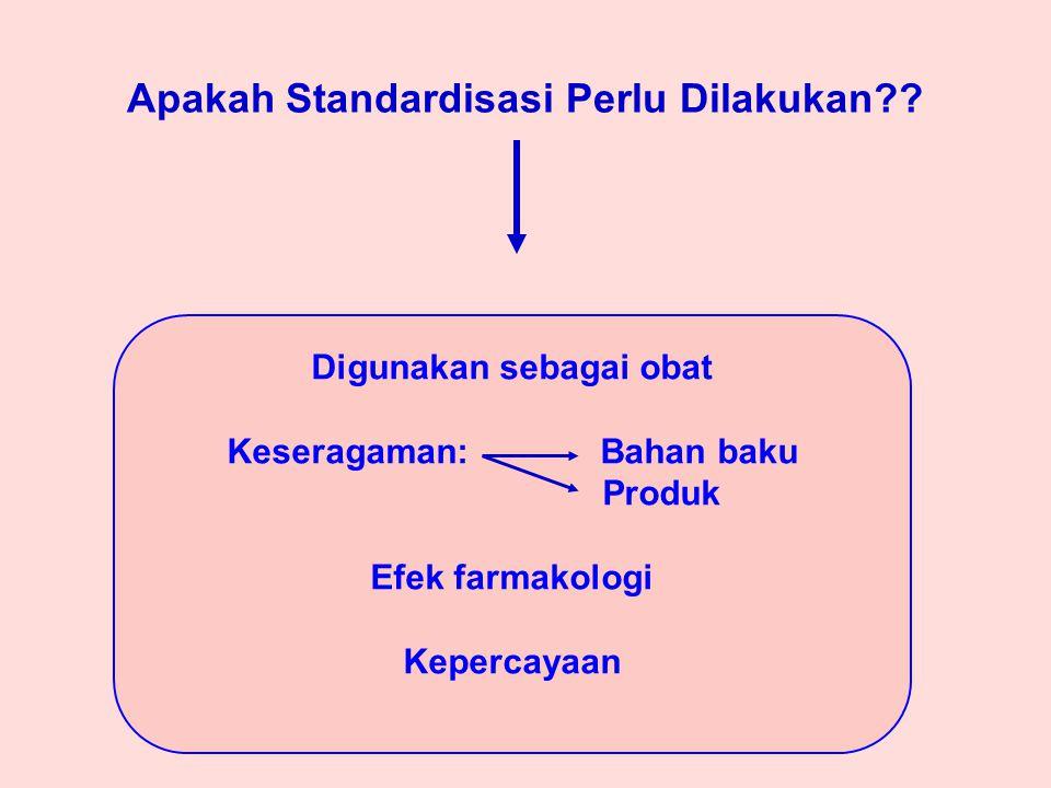 Apakah Standardisasi Perlu Dilakukan