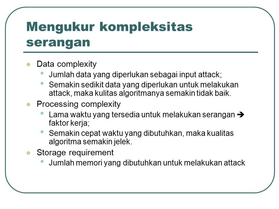 Mengukur kompleksitas serangan