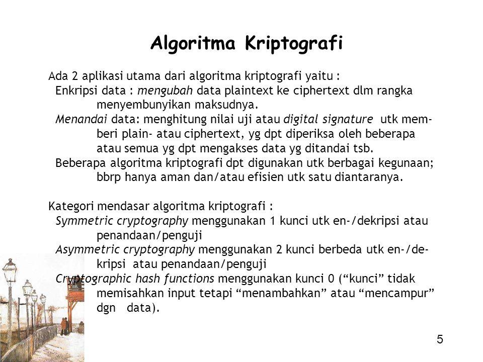 Algoritma Kriptografi