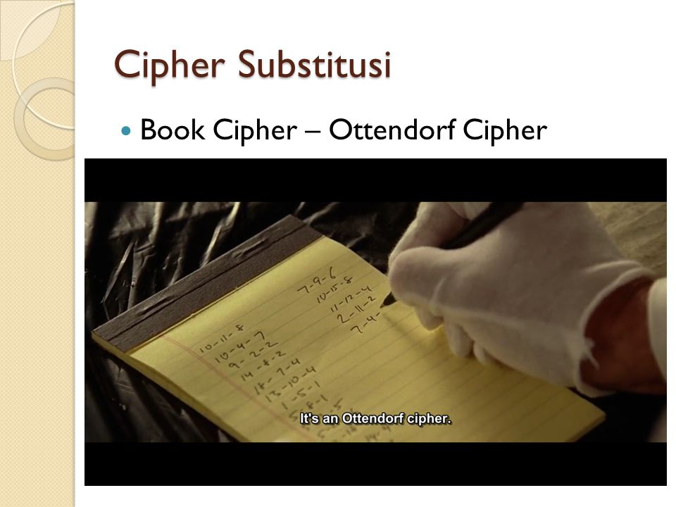 Cipher Substitusi Book Cipher – Ottendorf Cipher