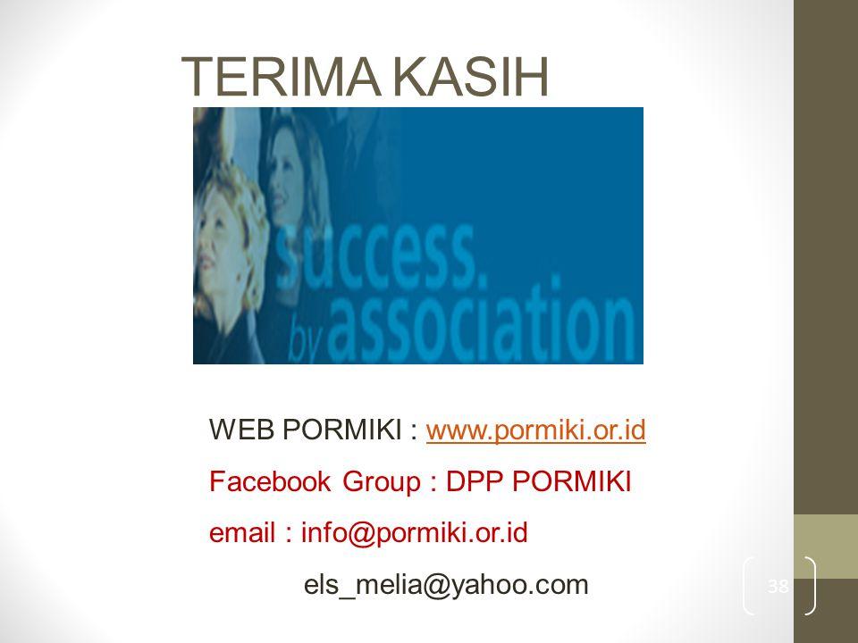 TERIMA KASIH WEB PORMIKI : www.pormiki.or.id