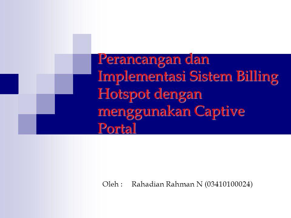 Oleh : Rahadian Rahman N (03410100024)