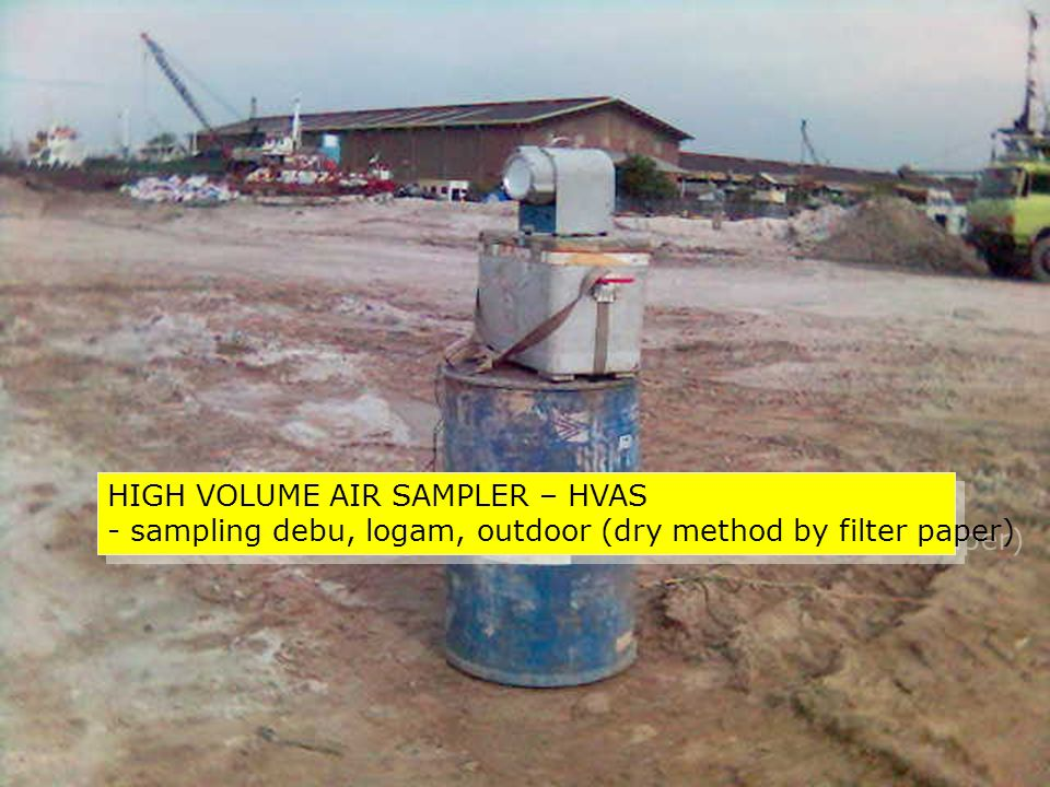 HIGH VOLUME AIR SAMPLER – HVAS
