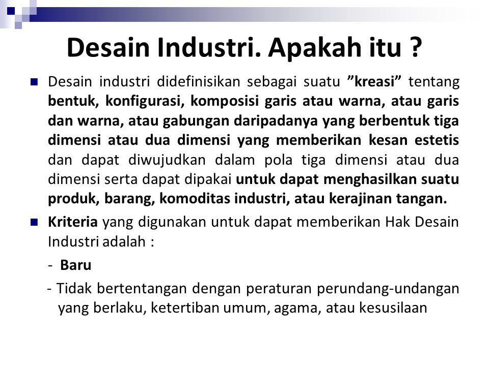Desain Industri. Apakah itu