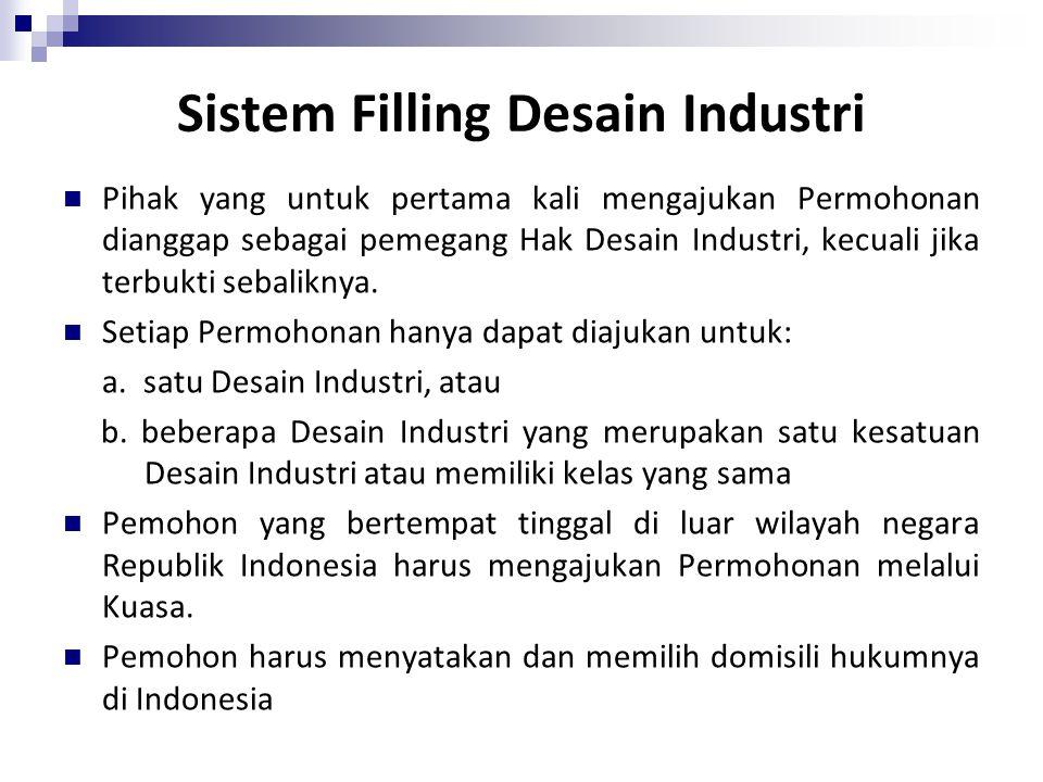Sistem Filling Desain Industri