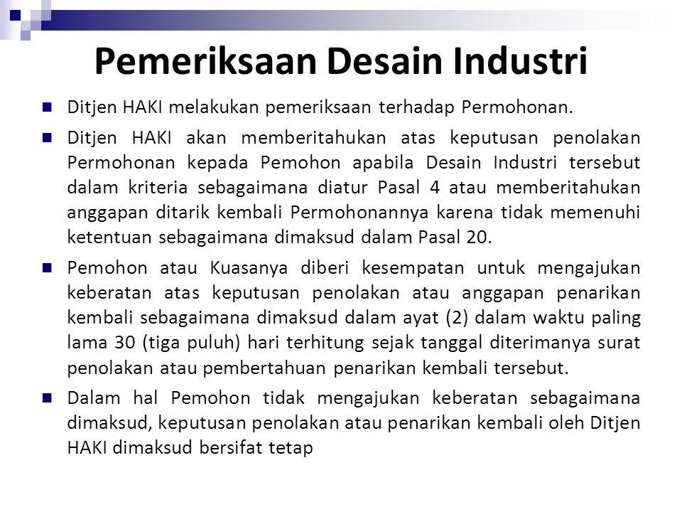 Pemeriksaan Desain Industri