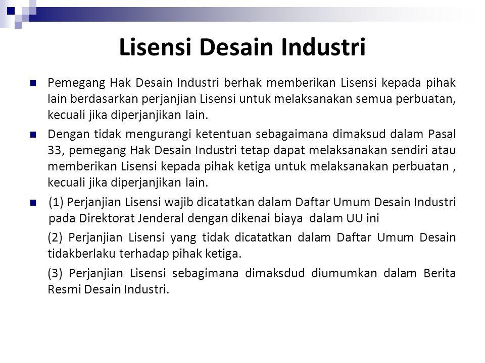 Lisensi Desain Industri