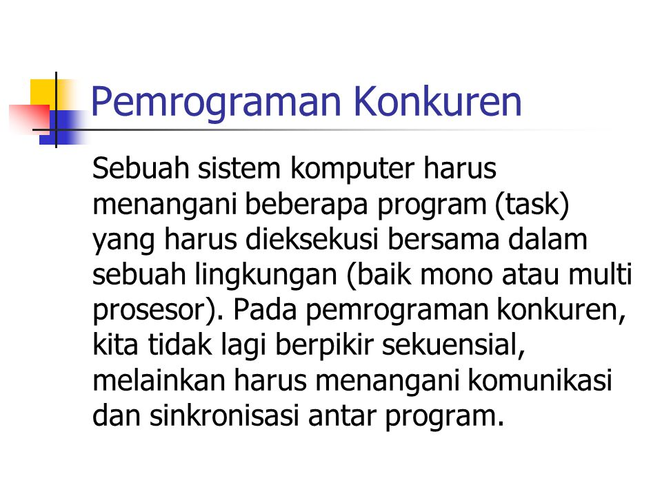 Pemrograman Konkuren