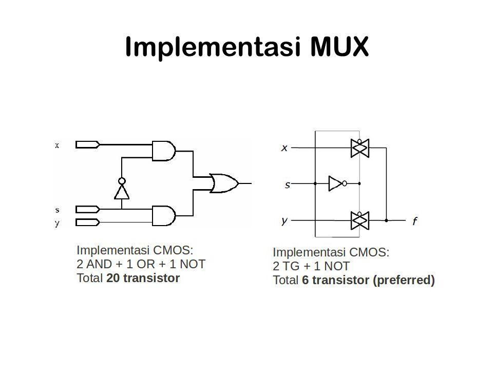 Implementasi MUX
