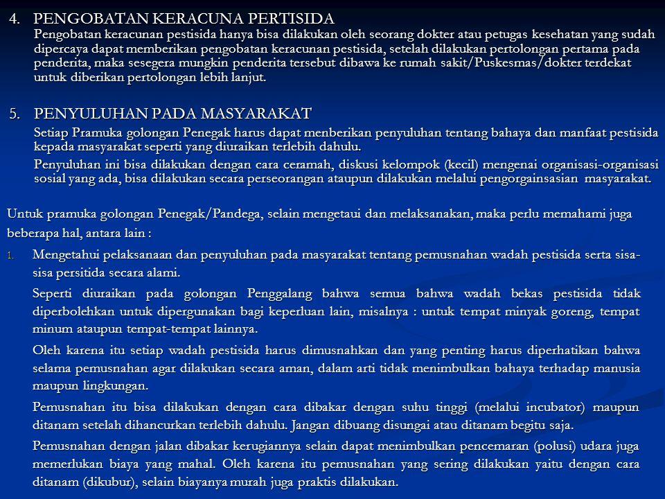 5. PENYULUHAN PADA MASYARAKAT