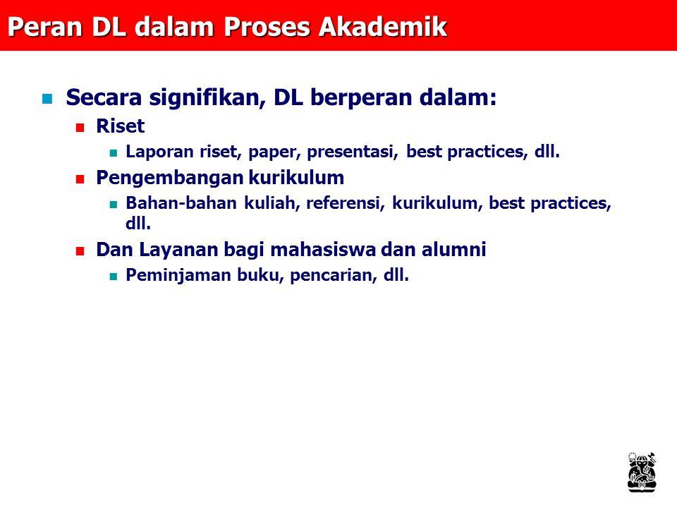 Peran DL dalam Proses Akademik