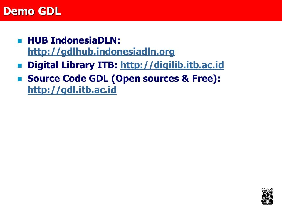 Demo GDL HUB IndonesiaDLN: