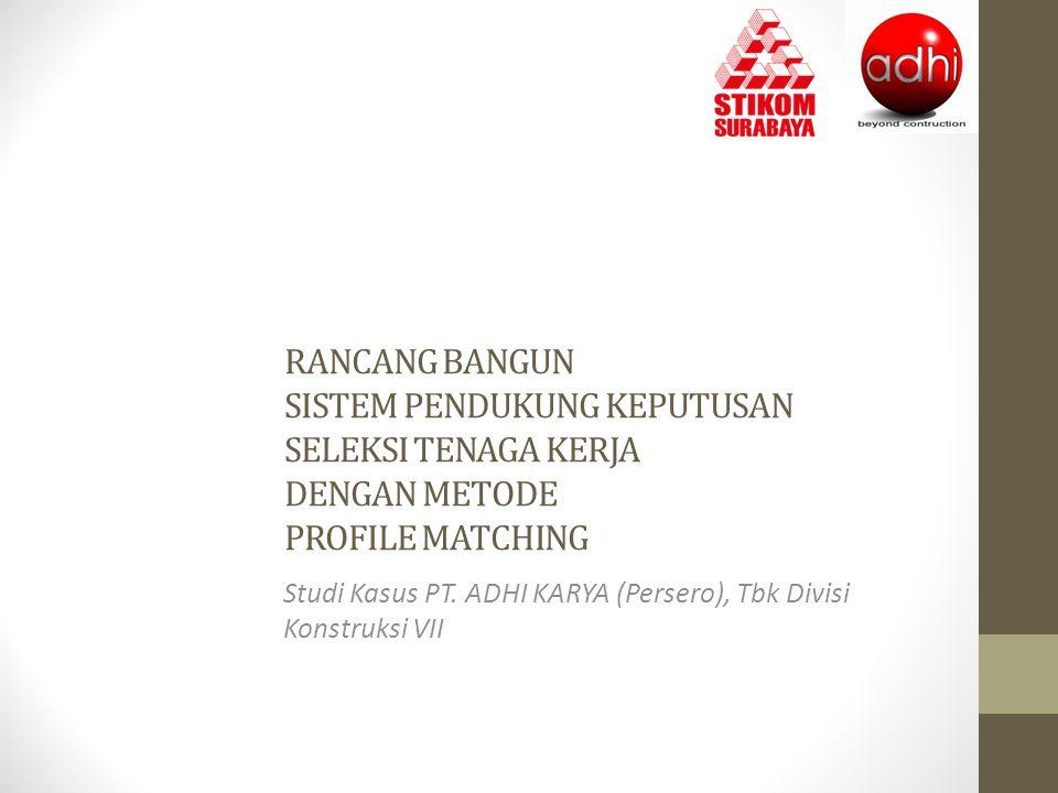 Studi Kasus PT. ADHI KARYA (Persero), Tbk Divisi Konstruksi VII