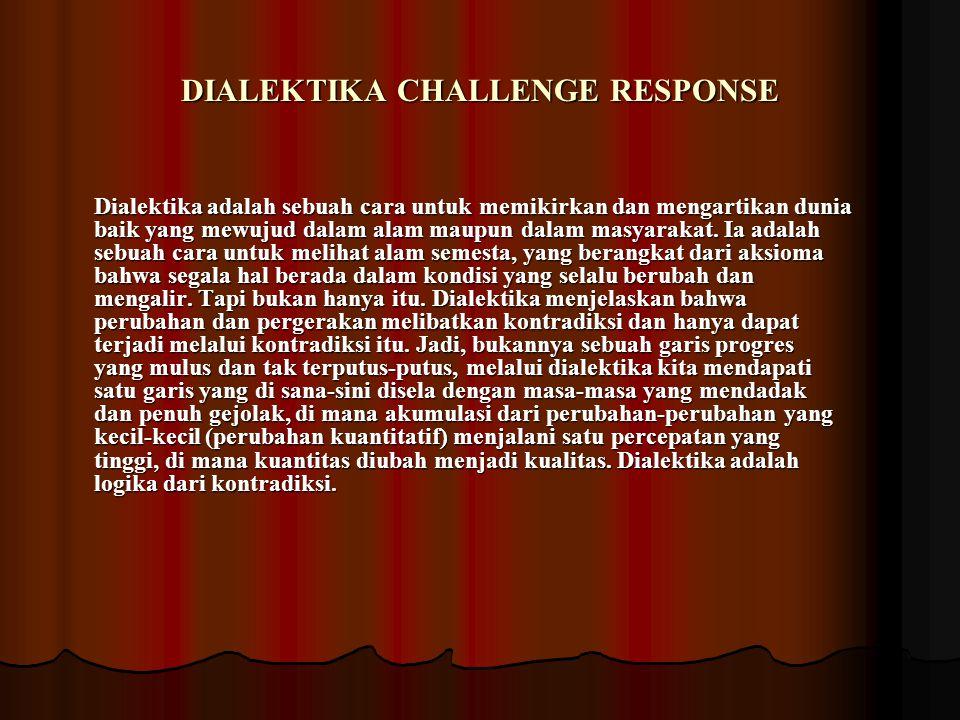 DIALEKTIKA CHALLENGE RESPONSE