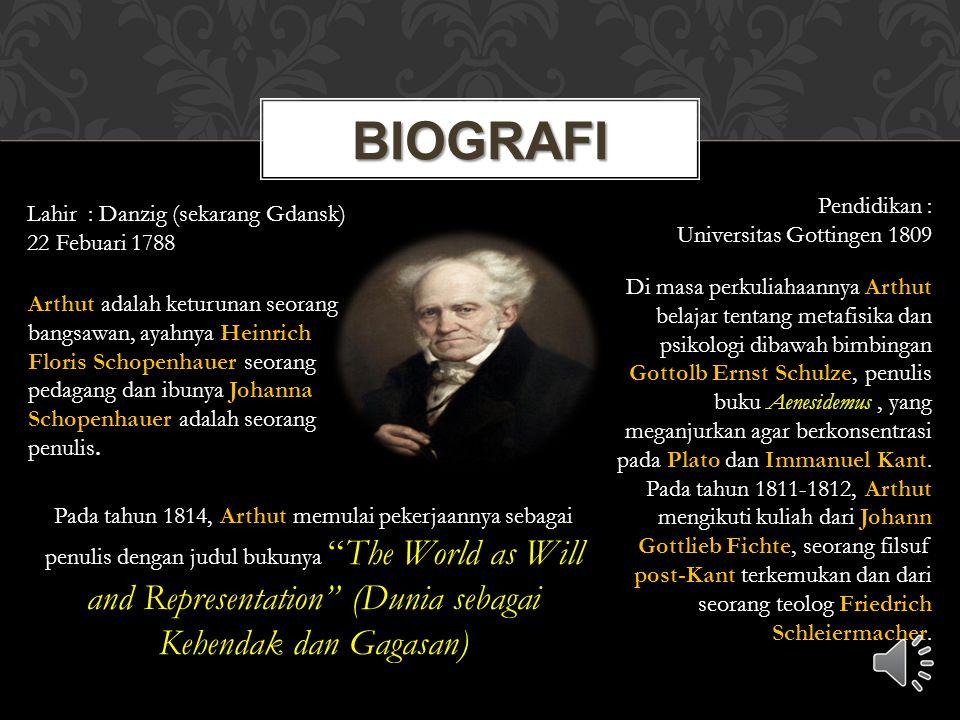 Biografi Pendidikan : Lahir : Danzig (sekarang Gdansk)