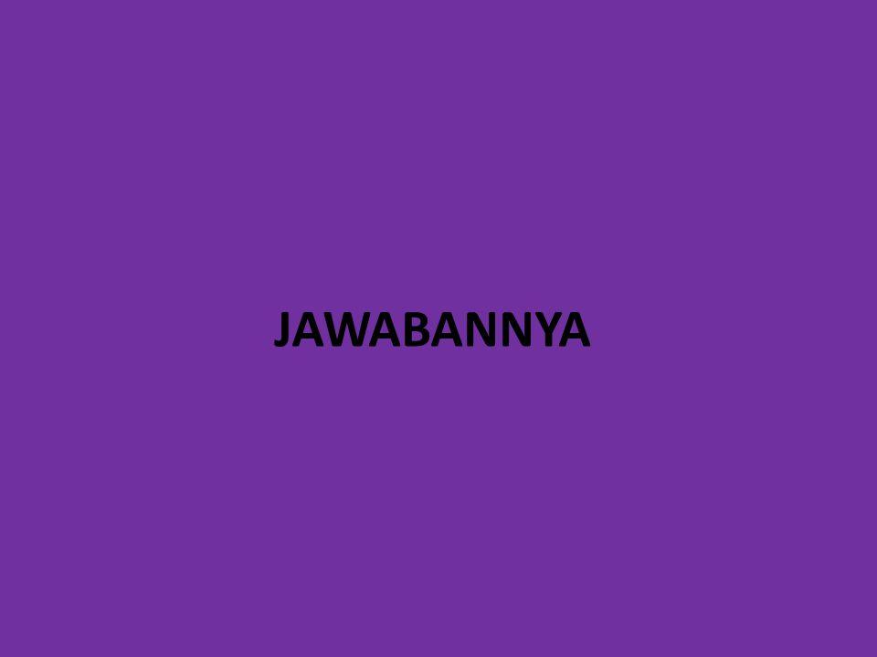 JAWABANNYA
