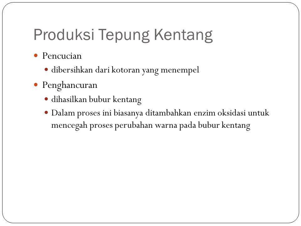 Produksi Tepung Kentang