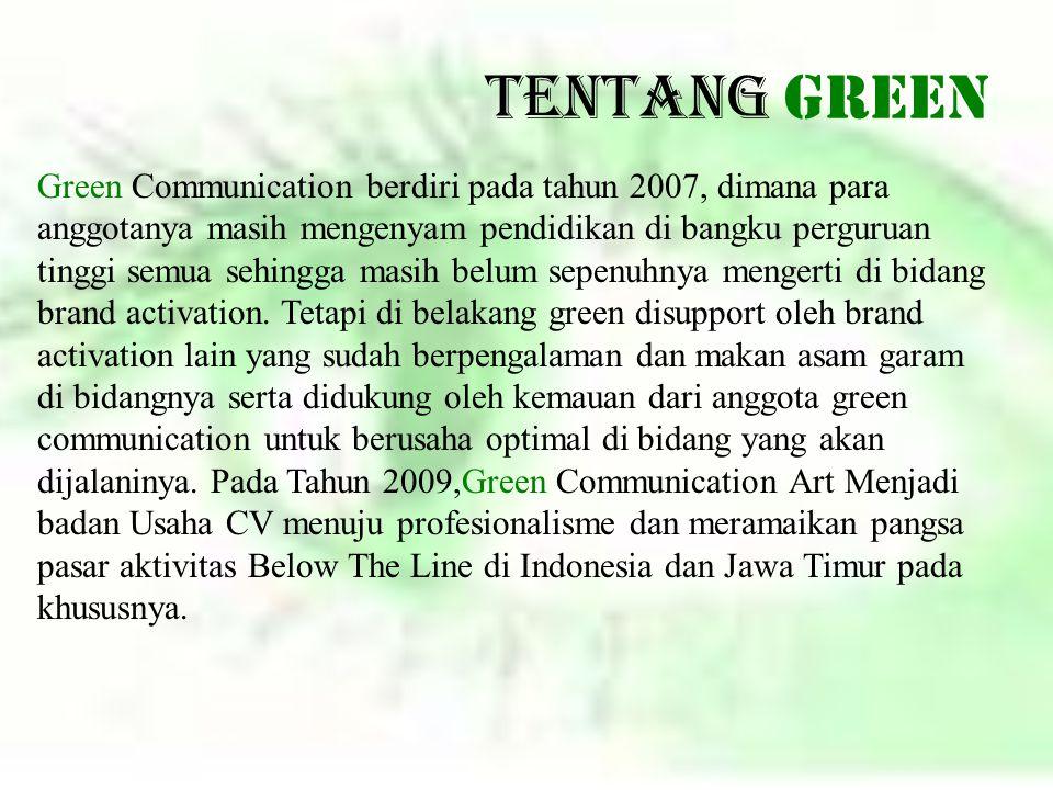 Tentang GREEN