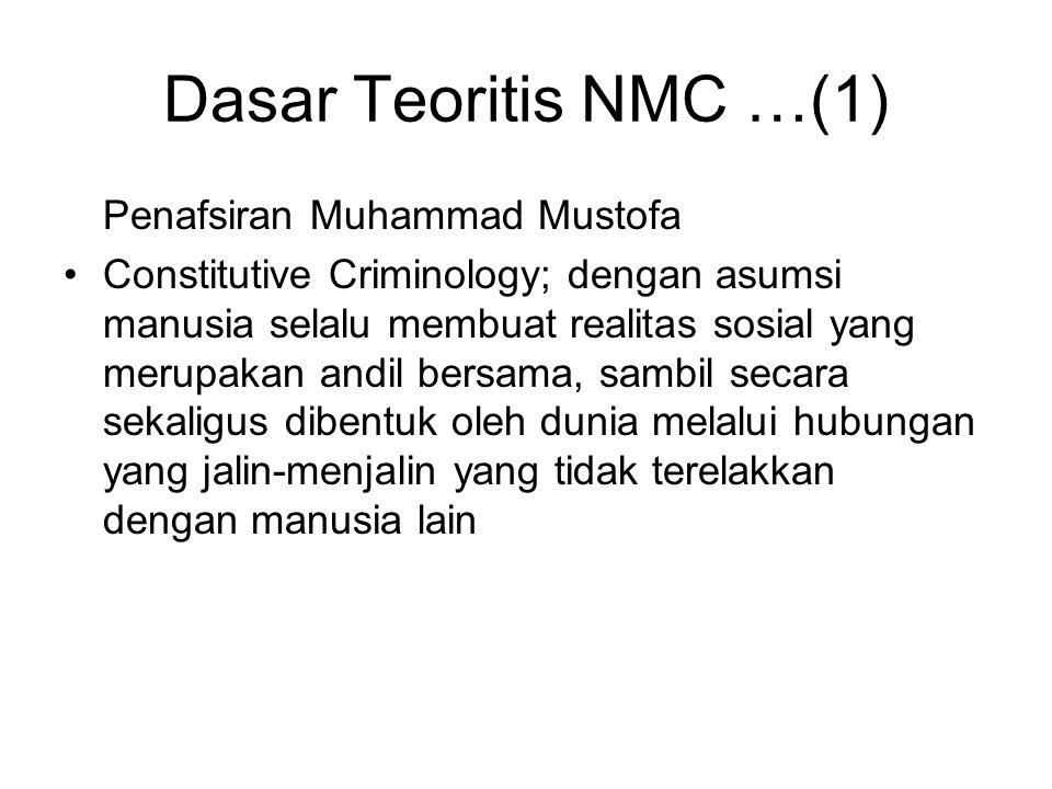 Dasar Teoritis NMC …(1) Penafsiran Muhammad Mustofa