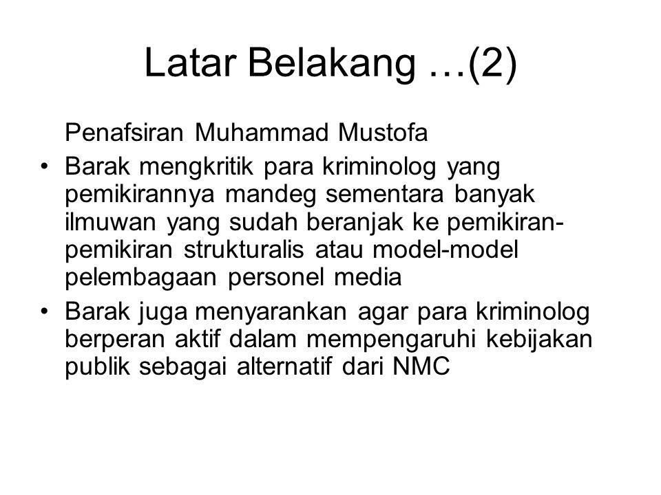 Latar Belakang …(2) Penafsiran Muhammad Mustofa