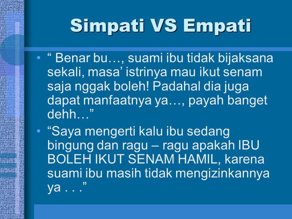 Simpati VS Empati