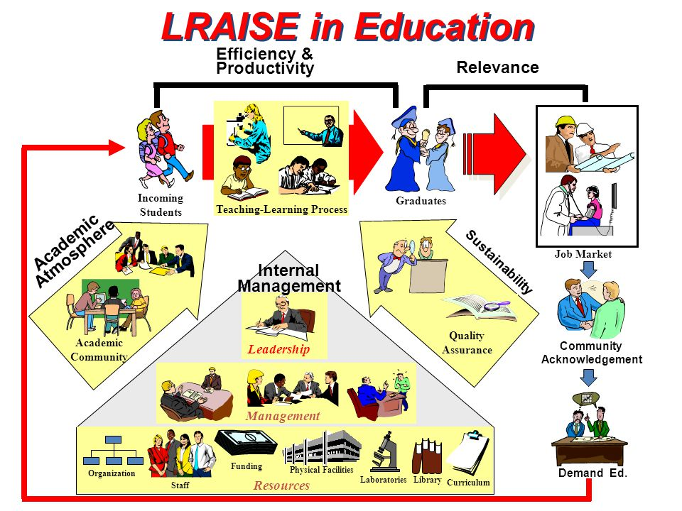 LRAISE in Education Efficiency & Productivity Relevance Academic
