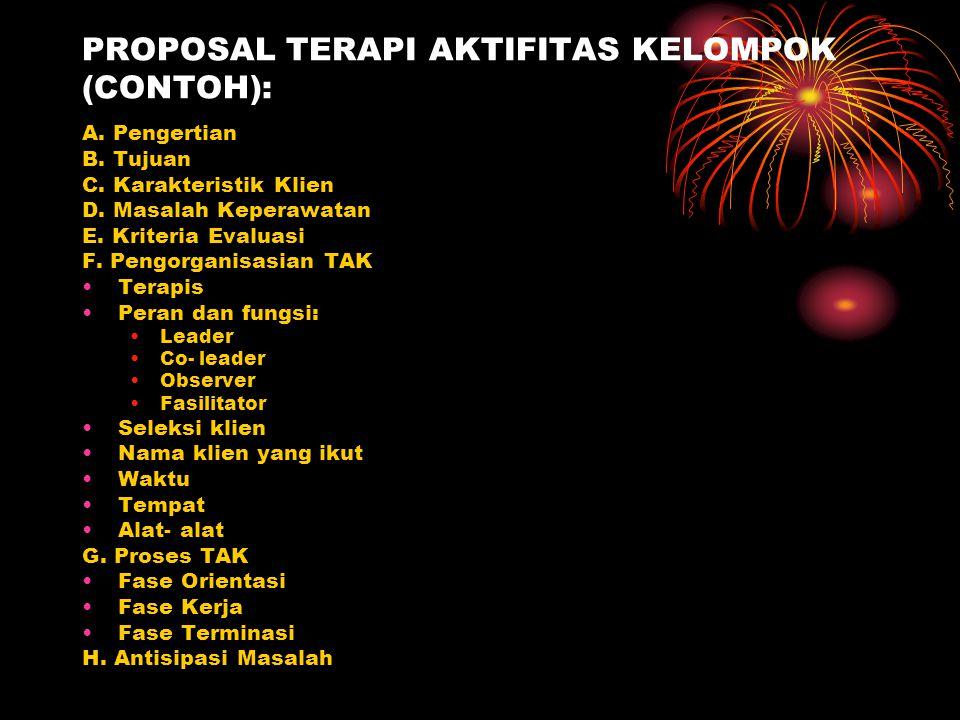 PROPOSAL TERAPI AKTIFITAS KELOMPOK (CONTOH):