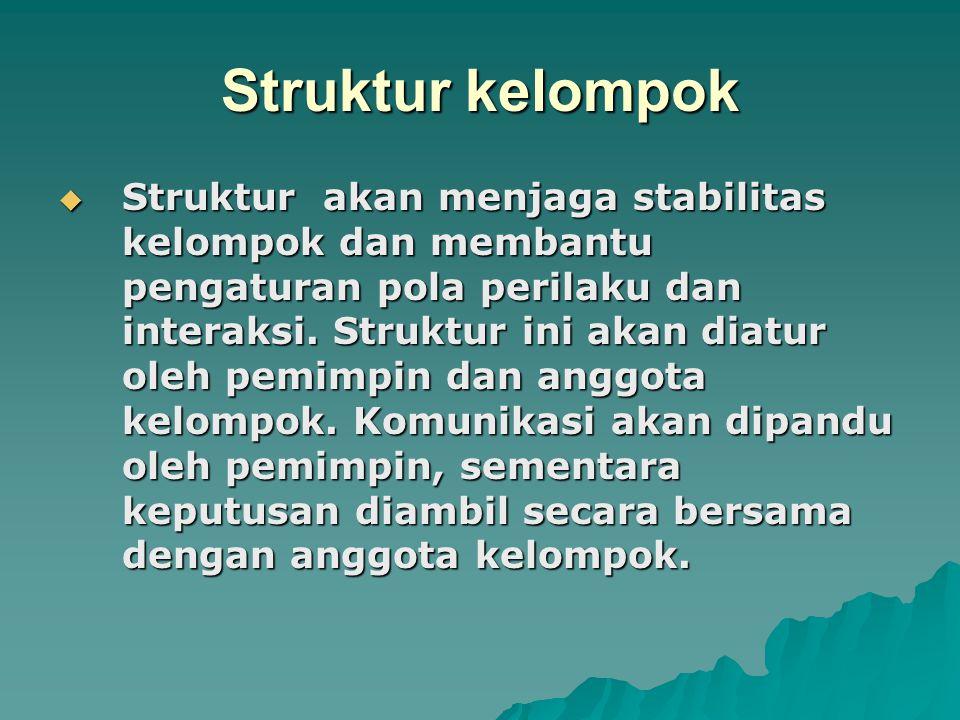 Struktur kelompok