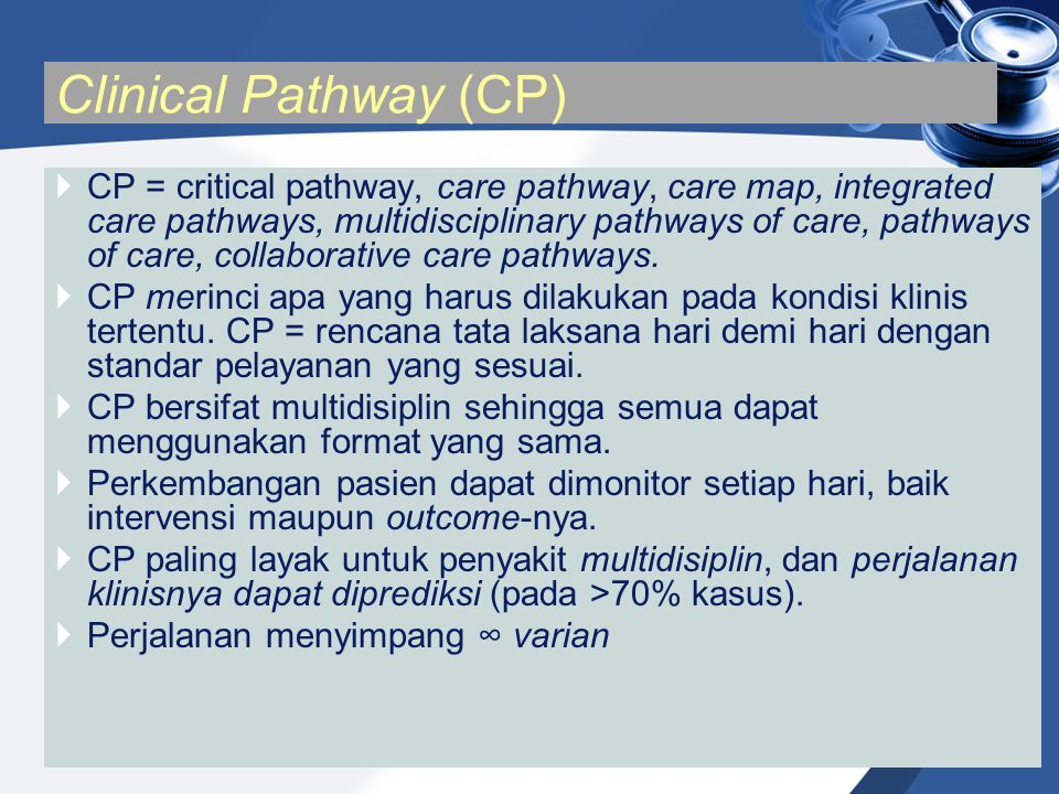 Clinical Pathway (CP)