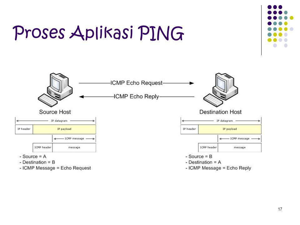 Proses Aplikasi PING